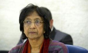 [Komisaris Tinggi untuk Hak Asasi Manusia Navi Pillay. UN Photo / Violaine Martin]