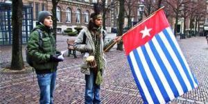 Pendukung Papua Merdeka di Belanda
