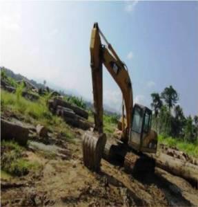 Alat yang digunakan penjajah untuk merusak alam Papua