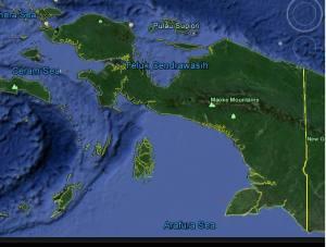 West Papua Land