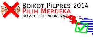 Boikot Presiden Indonesia di Papua (09/07/201