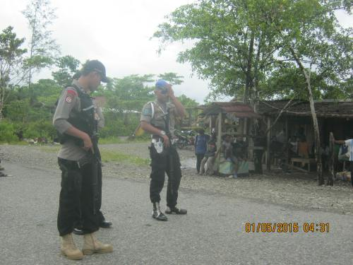 militer indonesia sedang siaga di jhon banua