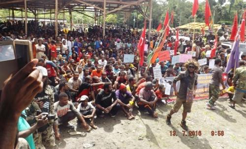 5000-an massa KNPB Yahukimo 13/7/2016
